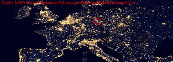 Schön Die Erde Bei Nacht Geoobserver
