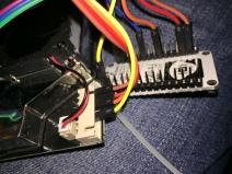Der Sensor nach 5V-Neuverkabelung