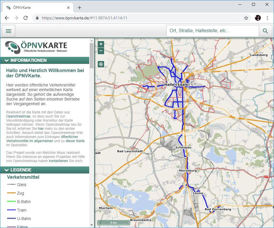öpnv karte ÖPNV Karte | #geoObserver