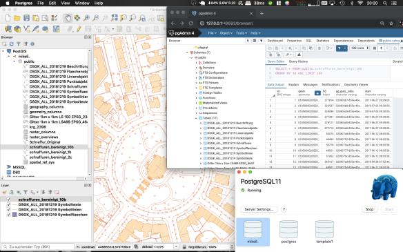 PostGIS_QGIS_pgAdmin4_at_Mac_Screenshot_1
